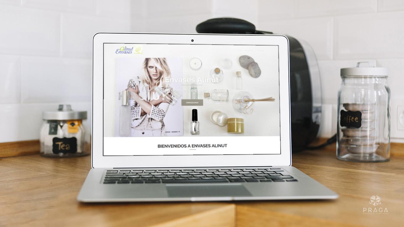 Envases Alinut | Diseño Web