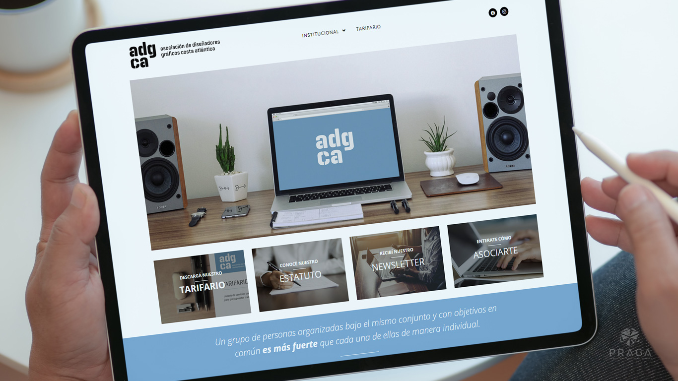 ADGCA Diseño Web